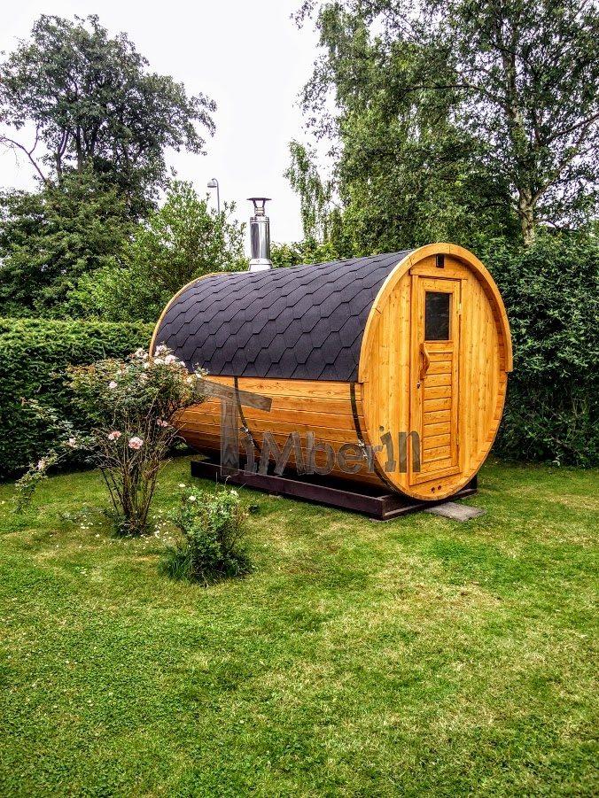 le sauna barrique en Allemande