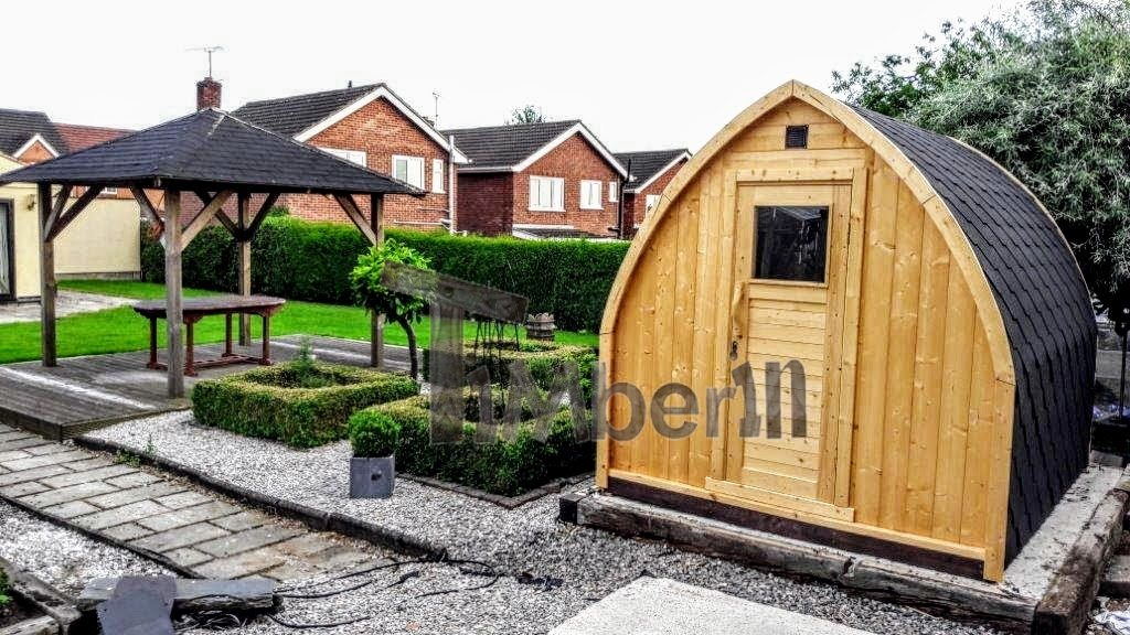 Sauna extérieur Igloo en Grand-Bretagne