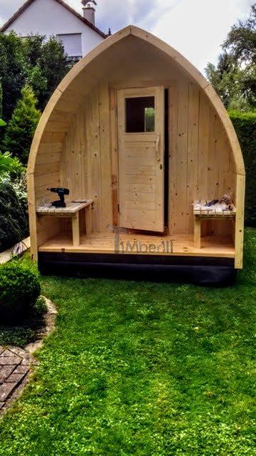 sauna extérieur en KIT