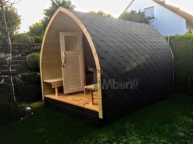 Kit sauna extérieur