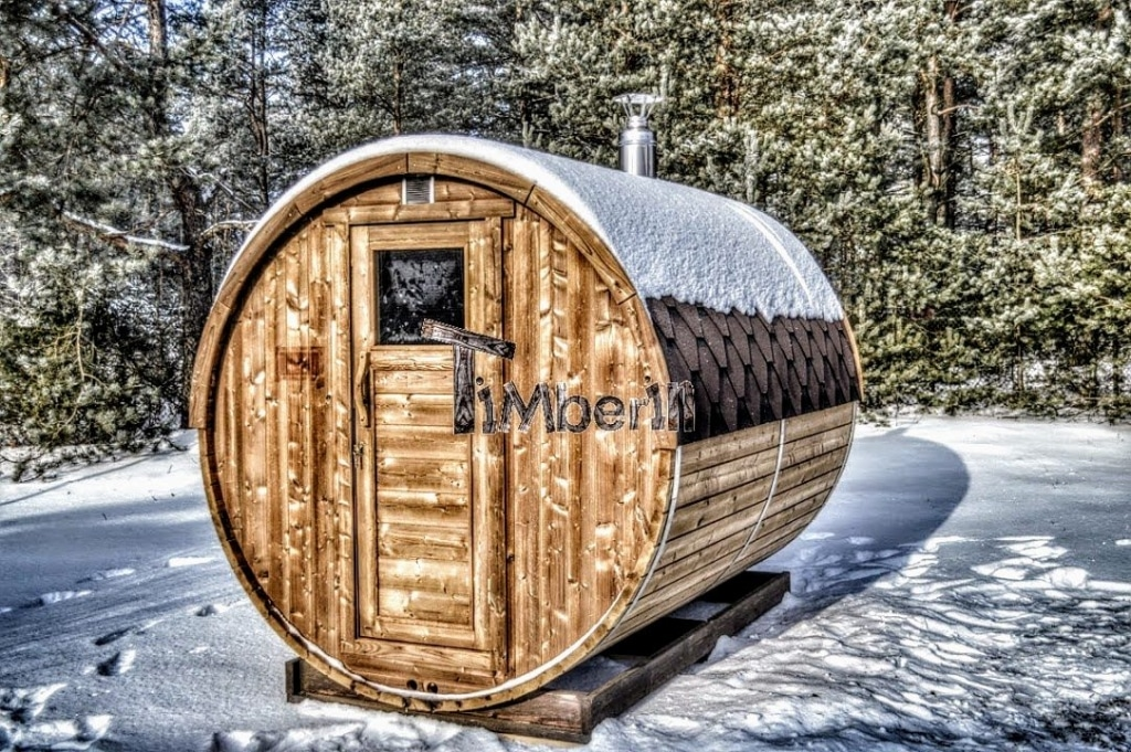 Sauna Exterieur Baril Barrique Rond