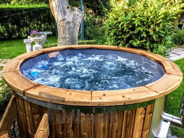 bain nordique avec bulles